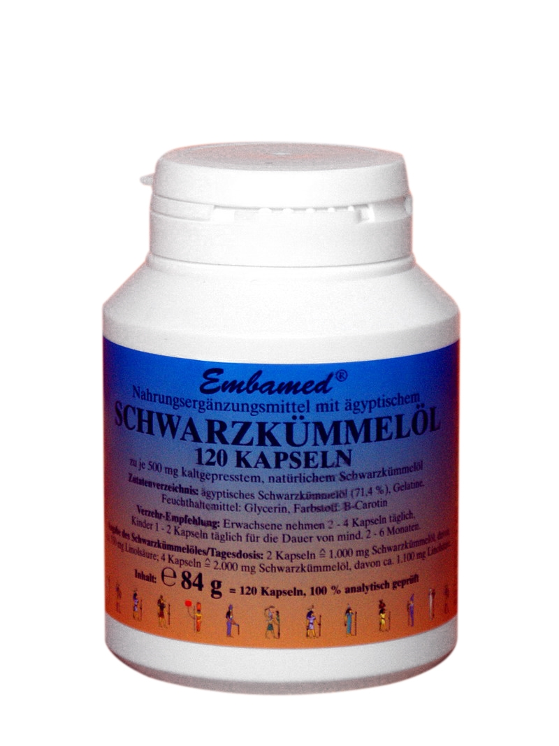 Embamed Handels Gmbh Produkte Schwarzkümmel Embamed Original